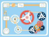 Transmission gears — Wektor stockowy