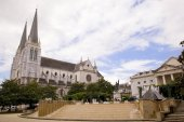 Center of the city of Pau, France — Stock Photo