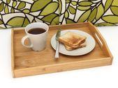 Bandeja de desayuno — Foto de Stock