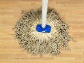 Vloer mop — Stockfoto