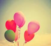 Çok renkli balonlar — Stok fotoğraf