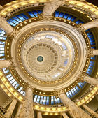 Inside of the state capitol — Stock Photo
