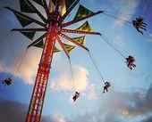 Ferris wheel in luna park — Foto Stock