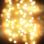 Yellow bokeh — Stock Photo