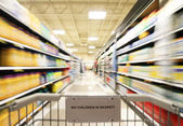 An isle in supermarket — Stock Photo