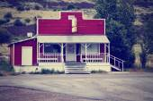 An old closed country store — Stock Photo