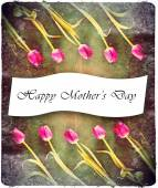 Tulips for mothers day — Stock Photo