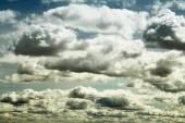 白云和天空 — 图库照片