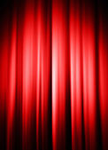 Curtains with light and shadow — Stock Photo