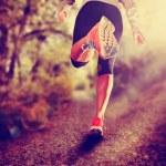 Athletic pair of legs running — Stock Photo #54193417