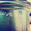 I love you written on lamp post — Stock Photo #59131251