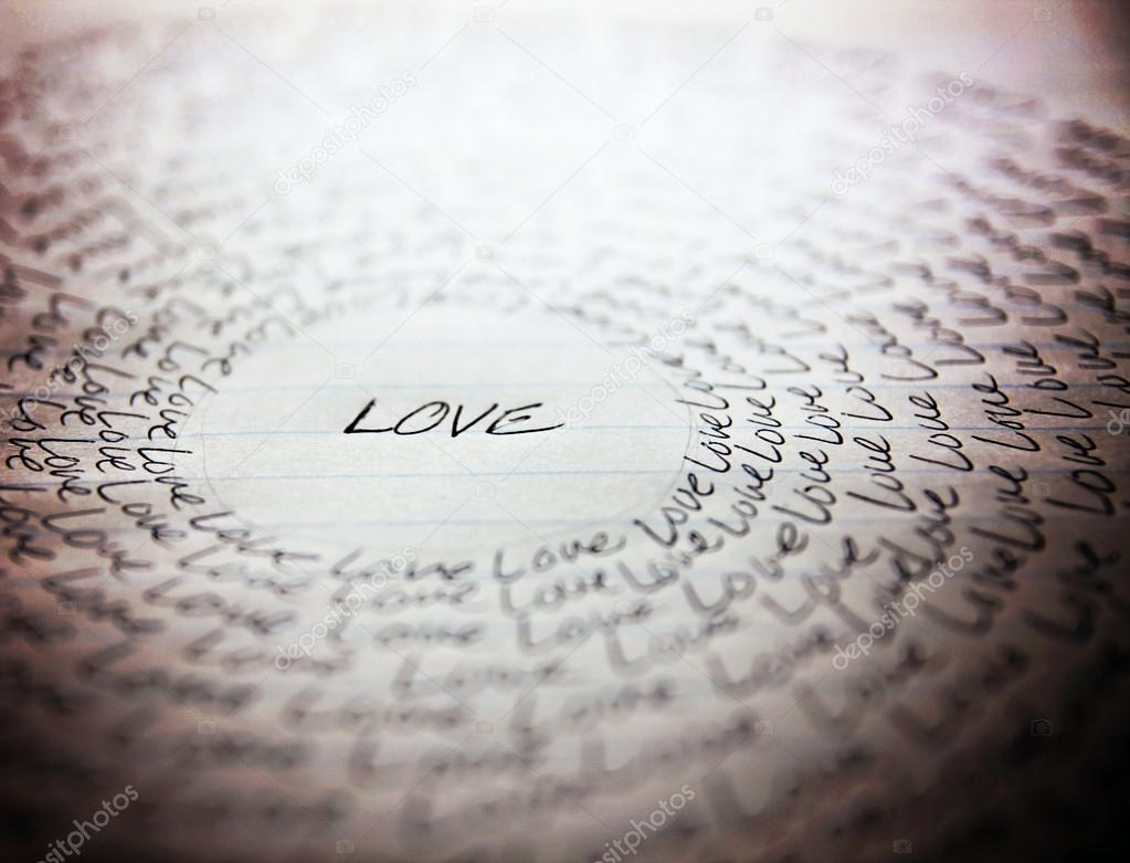 word love written on lined paper stock photo copy graphicphoto word love written on lined paper stock photo 59131245