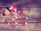 Valentines day hearts — Stock Photo