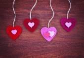 День Святого Валентина сердца — Стоковое фото