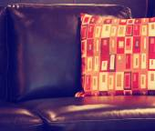 Sofa in the living room — Stock Photo