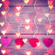 Love valentines hearts — Stock Photo #65212235