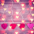 Love valentines hearts — Stock Photo #65212267