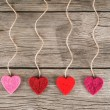 Love valentines hearts — Stock Photo #65212269