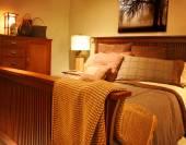 Beautiful Craftsman Bedroom — Stockfoto