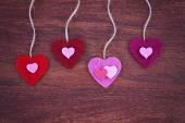 Valentines day hearts — Foto de Stock