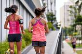 Mulher de fitness correndo — Fotografia Stock