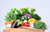Variété de légumes colorés — Photo