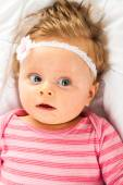 Very cute toddler girl — Stock Photo