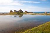 Plougrescant peninsula — Stock Photo
