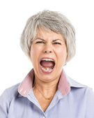 Yelling Expression — Foto de Stock