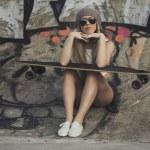 Skater Girl — Stock Photo #57822729