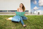 Beautiful teenager student — Foto Stock
