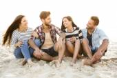 The best summer is with friends — Stock Photo