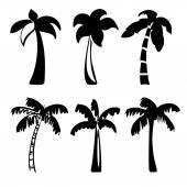 Palm  icon sketch cartoon vector illustration — ストックベクタ