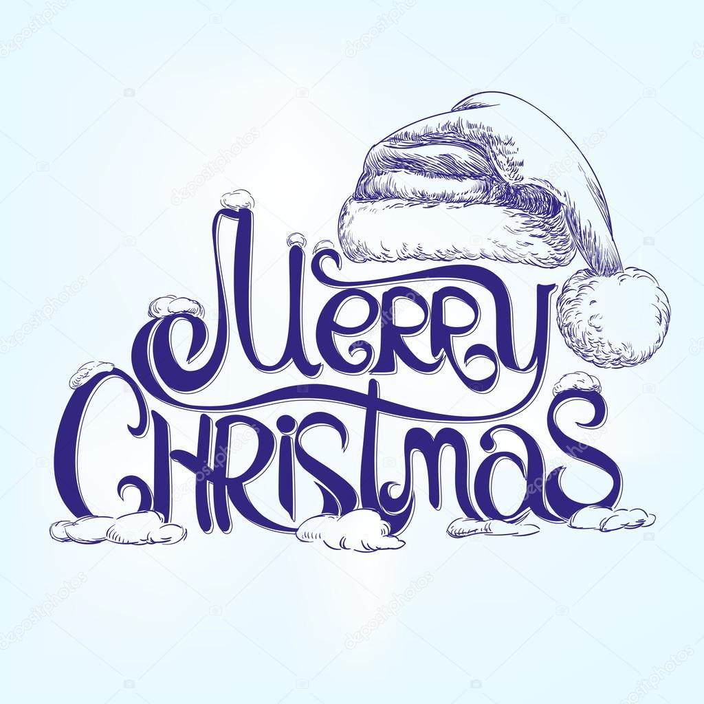 frohe weihnachten gratulation hand lettering. Black Bedroom Furniture Sets. Home Design Ideas