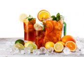 Still life of iced tea — Stock Photo