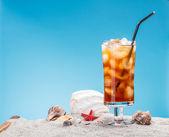 Still life of ice tea — Stock Photo