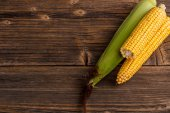 Corn on the cob — Stock Photo