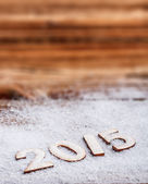 2015 New Year text — Stock Photo