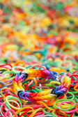 Loom rubber bands — Stock Photo