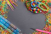 Loom bands — Stock Photo