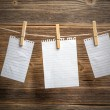 Paper notes — Stock Photo #55725931