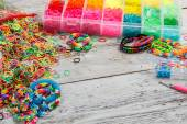 Loom bands tool — Stock Photo