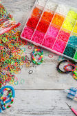 Loom bands — Foto Stock