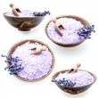 Lavender bath salt — Stock Photo #56291445