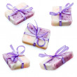 Lavender homemade soap — Stock Photo #57349385