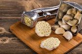Garlic press — Stock Photo