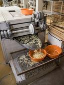 Pasta manufacturing — Stock Photo