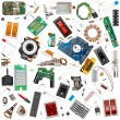 Electronic components — Stock Photo #64597075