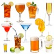 Set of different drinks — Stock Photo #64597095
