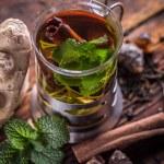 Mint tea — Stock Photo #66578415